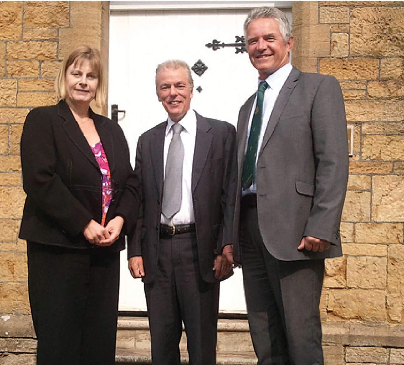 H&H Accountants with independent financial adviser, Bernie Reeby