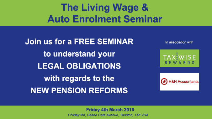 Recap on The Living Wage and Auto Enrolment