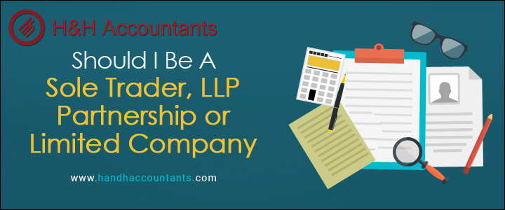 Should I be a Sole Trader, Partnership, LLP or Limited Company?